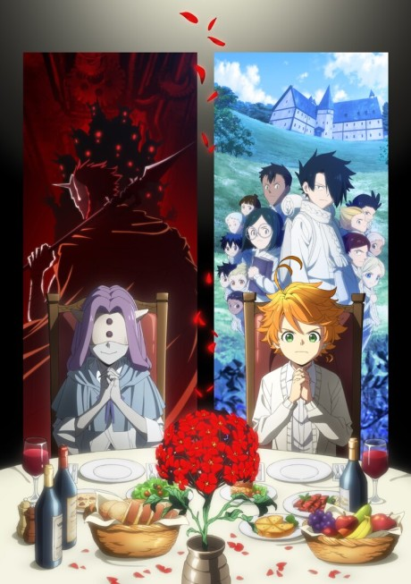 Poster for Yakusoku no Neverland