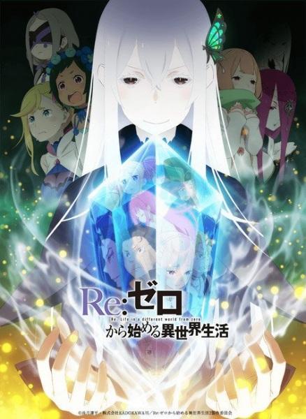 Poster for Re:Zero kara Hajimeru Isekai Seikatsu 2nd Season Part 1
